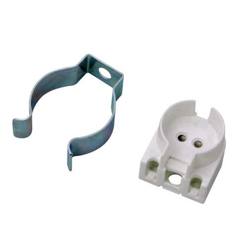 T12 Terry Clip [For use with T12 Linear Fluorescent Tubes] (38/SVD) [EU Specification: 220-240v]