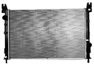 TYC 2702 Chrysler Pacifica 1-Row Plastic Aluminum Replacement Radiator
