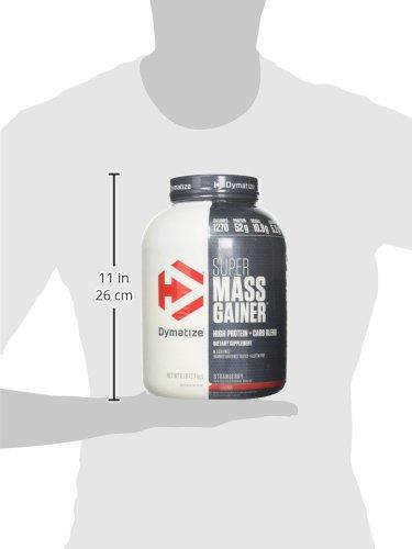 Dymatize Nutrition Super Mass Gainer Berry Cream 2722g: Amazon.es: Salud y cuidado personal