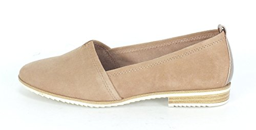20 Beige 1 Womens 616 Loafers Tamaris 24205 old Rose Suede AqEXcwRf