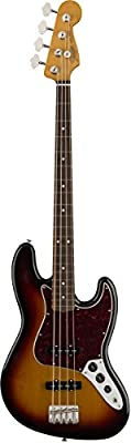 Fender '60s Jazz Bass Pau Ferro Fingerboard with Gigbag