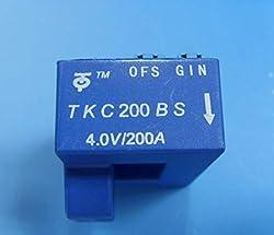 Fevas 5pc Hall Current Sensor Module TKC200BS 4V/200A Open Loop Hall Sensor