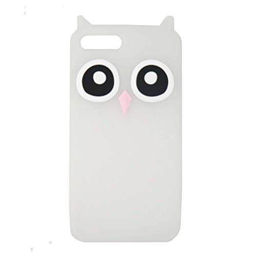 DiDicose Samsung Galaxy Note 3 Case,3D Cartoon Animal Translucent Glitter Owl Cat Kitty Silicone Rubber Phone Case Cover for Samsung Galaxy Note - 3d 3 Cartoon Note Case