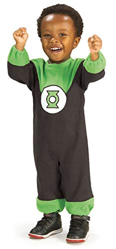 Justice League Green Lantern Romper Costume, Green Print,