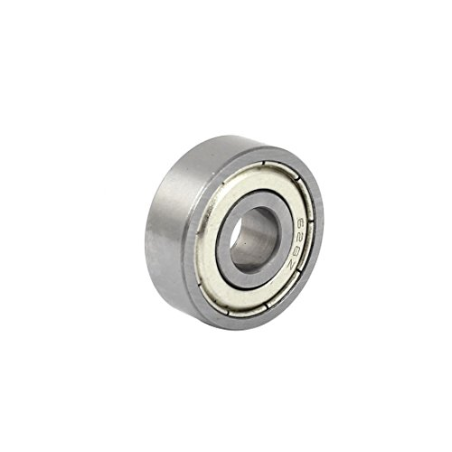 Uxcell a15011600ux0121 628Z Double Metal Shielded Sealed Deep Groove Ball Bearing 8x24x8mm, 0.3 (8mm Sealed Ball Bearings)