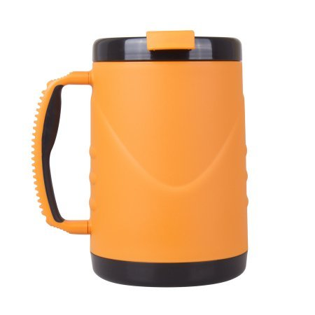 48oz double wall sweat proof bpa free orange mug (Wal Mart Mug)
