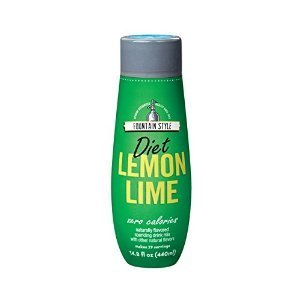 Water Corn Syrup - SODAMIX DIET LEMON LIME by SODASTREAM MfrPartNo 1424227010