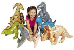 Fun Express Large Inflate Dinosaurs (6 - 6 Large Piece