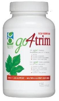 go4trim (126 Capsules) go 4 garniture avec glucomannane de konjac Marque: Genuine Health