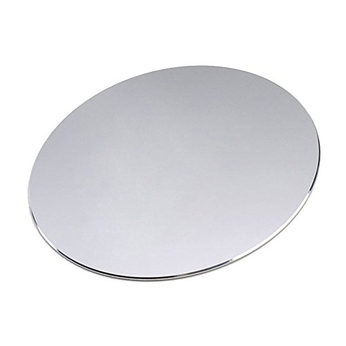 - NewBull Aluminum Circular Mouse Mat with Waterproof Non Slip Rubber Base and Frosted Surface Mousepad for Apple MackBook 8.66