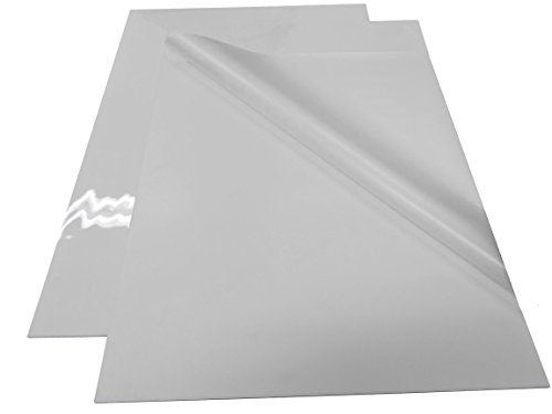 Pouch Board - White Gloss 25