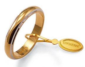 mode de luxe Royaume-Uni prix Fede Nuziale Unoaerre Classica da 5 grammi oro giallo 18kt ...