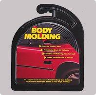 Auto Body Molding - Cowles Body Molding/Trim - Universal - Black Body Side Molding ~ 1