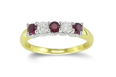 bague diamant 5 pierres