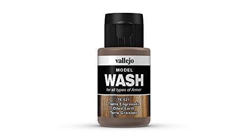 Vallejo Oiled Earth Model Wash (Acrylic Wash)