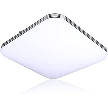 B right 20w square led flush mount ceiling light 5000k cold white b right 20w square led flush mount ceiling light 5000k cold white 1400lm aloadofball Choice Image