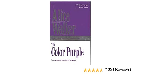 The Color Purple: Alice Walker: 9780704343306: Amazon.com: Books