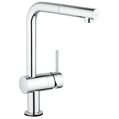 Grohe 30 218 Minta Pull-Out Spray Kitchen Faucet with Touch Activation,