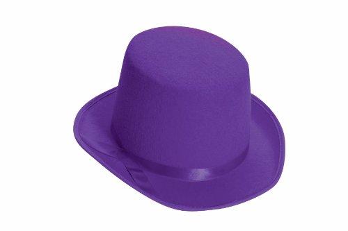 Purple Deluxe Top Hat -