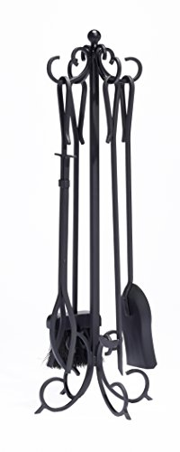 Pleasant Hearth 5-Piece Lewis Fireplace Toolset by Pleasant Hearth