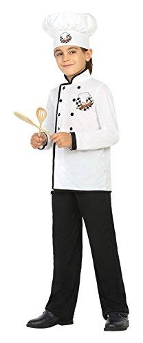 Atosa- Disfraz Cocinero, 7 a 9 años (22162): Amazon.es: Juguetes y ...