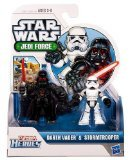 Playskool Heroes, Star Wars, Jedi Force Figures, Darth Vader and Stormtrooper
