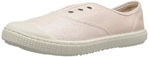 The Children's Place Girls' Laceless Sneaker Ballet Flat, Light Pink, 0-3MONTHS M US Infant