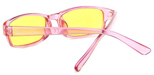 Protection De Lentilles Entièrement Correction Écaille 4sold Driving Unisex Soleil Füllend Slim Pink Lunettes Nuit Jaune Model 8pwOqYT