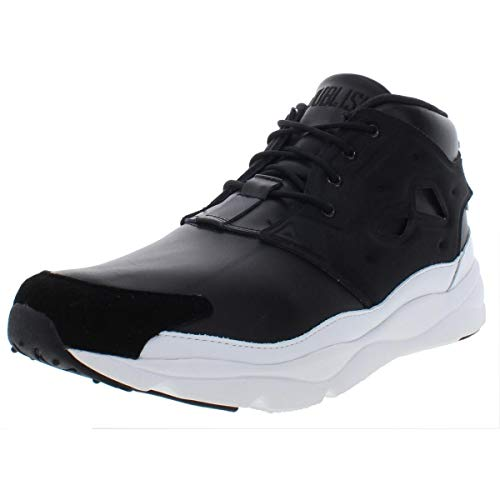 Reebok Furylite Chukka Affiliates (Publish Brand) Mens in Black/White, 10 (Reebok Chukka Shoes)