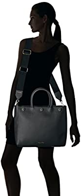 Calvin Klein Unlined Novelty Button Detail Tote