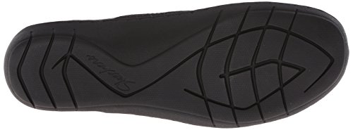 Skechers Washington Seattle Slip-on Loafer Zwarte Sluiting