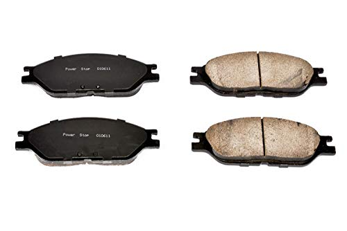 Power Stop 16-803 Front Z16 Evolution Clean Ride Ceramic Brake Pad Set