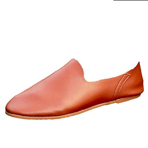 Scarpe Anguang Marrone 1 Uomo Commerciale Mocassino All'aperto Confortevole Mocassini Guida Scarpe qAqwr0zU
