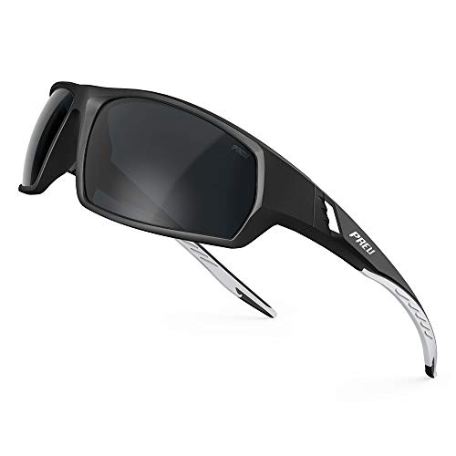 PREU Polarized Sunglasses for Men, Lightweight Popular Unisex Sun Glasses For Women,Perfect for Travel/Driving/Sports(S103402)