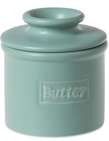 The Original Butter Bell Crock by L. Tremain, Café Collection Aqua Matte (Butter Crock With Lid compare prices)