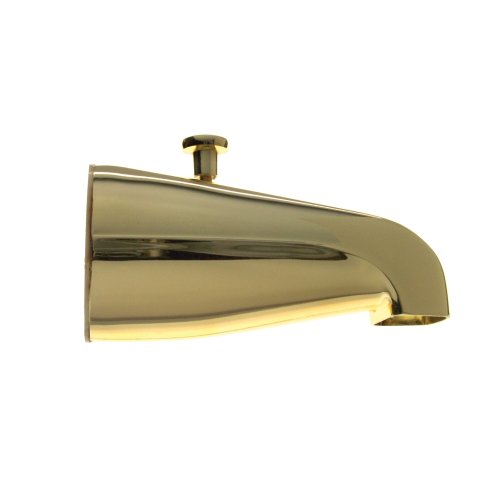 delicate Danco 80877 Tub Spout with Diverter, Polished Brass