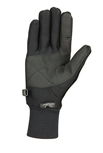 Seirus All Weather Soft Shell (Seirus Innovation 1425 Men's Original All-Weather Lighweight Form Fit - Winter Cold Weather Glove,Black,Large)