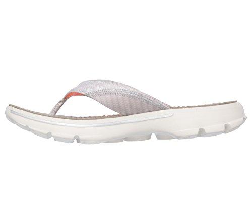 Skechers Go Walk - Pizazz - Zapatillas de deporte para mujer marrón