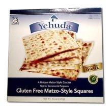 Yehuda Gluten Free Matzo Squares, 10.5 Ounce -- 12 per case by Yehuda Matzos