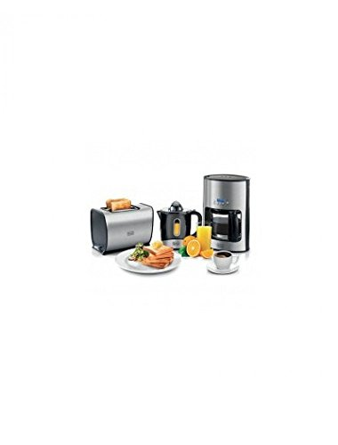 Coffee Breakfast Set - BLACK & DECKER BFS100 BREAKFAST SET JUICER,TOASTER AND COFFEEMAKER FOR 220/240 VOLT COUNTRY (WILL NOT WORK IN USA OR CANADA)