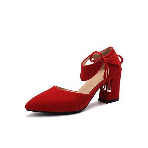 sandali Rosso dei sandali moda alti signore signore sandali Raptor sandali sandali tacchi sandali e i consigli di 2 nx0ZF