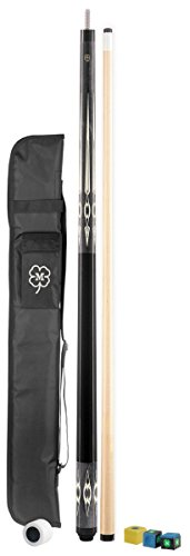 (McDermott Classic Pool Cue Kit (Dark Gray,)