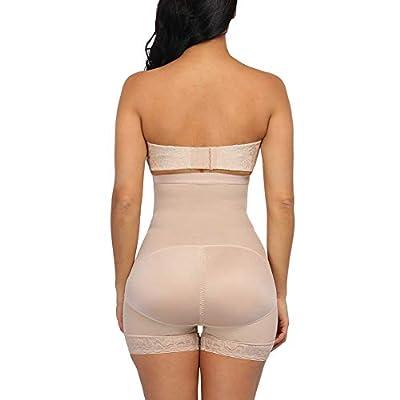 GINVELL Women Shapewear High Waist Control Panties Underwear Butt Lifter Control Corset Pants Briefs