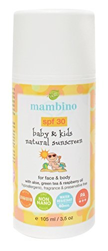 Mambino Organics SPF 30 pour
