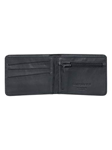Quiksilver Men's Slim Vintage Plus Wallet, Dark Forest, M from Quiksilver