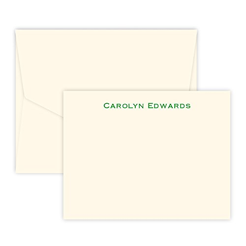 Personalized Bellmore Card - Raised Ink (Ivory)