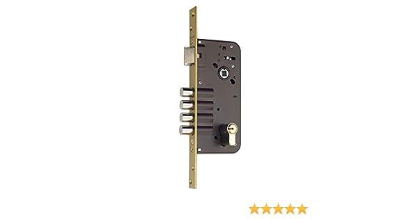 Azbe 3010095 Cerradura Seguridad 8912-bc/hs-6/80, Bicapa: Amazon.es: Bricolaje y herramientas