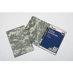 SKILCRAFT 7510-01-600-8651 ACU Digitized Steno Pad Holder, Camouflage by Skilcraft