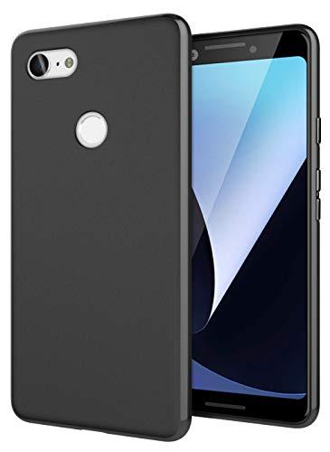 Cimo Slim Matte Google Pixel 3 Case Premium Flexible TPU Protection Google Pixel 3 (2018) - Black
