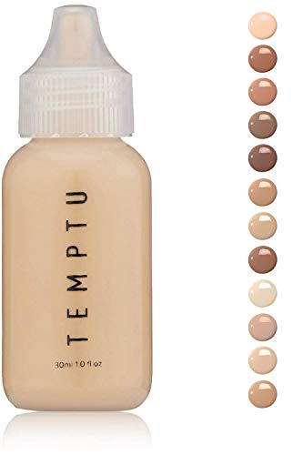 Temptu S/B Foundation: Natural Long Lasting Airbrush Foundation, Ivory, 1 Oz